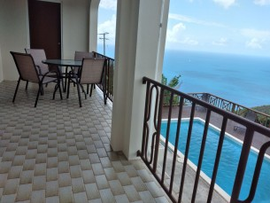 MLS#FH02 FAHIE HILL. 2 BEDROOM, 2 BATHROOMS FULLY FURNISHED APARTMENT